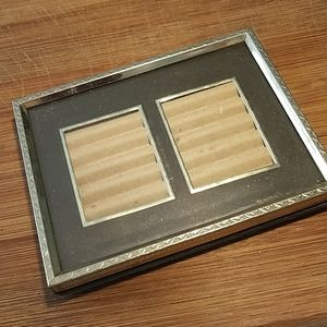 Vintage Small Double Photo Frame